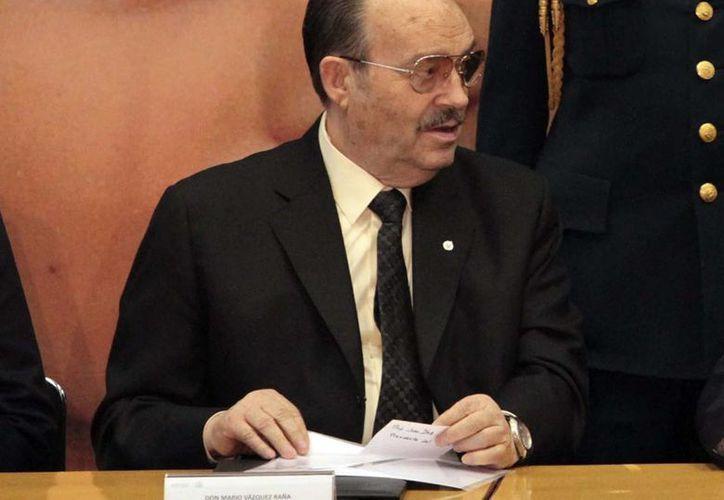 Vázquez Raña presidio también la ODEPA, y se mantuvo en el seno del COI. (Foto: Notimex)