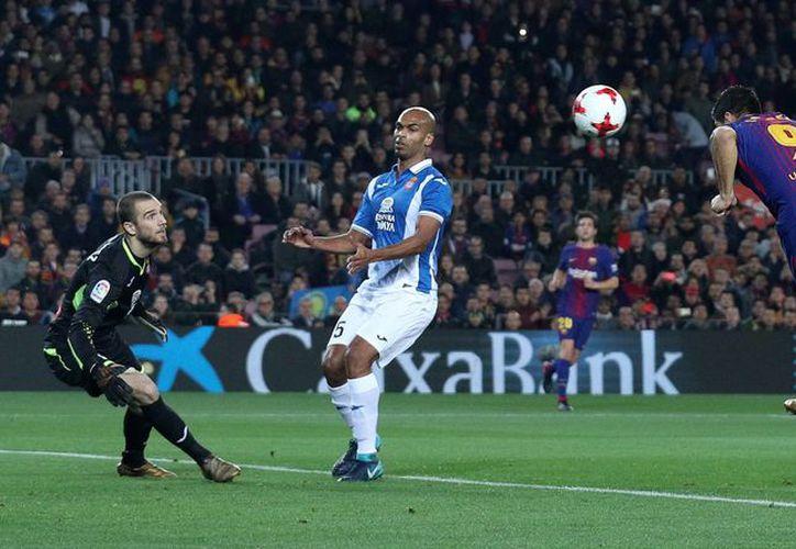 El Barcelona derrotó por 2-0 al Espanyol. (Reuters)