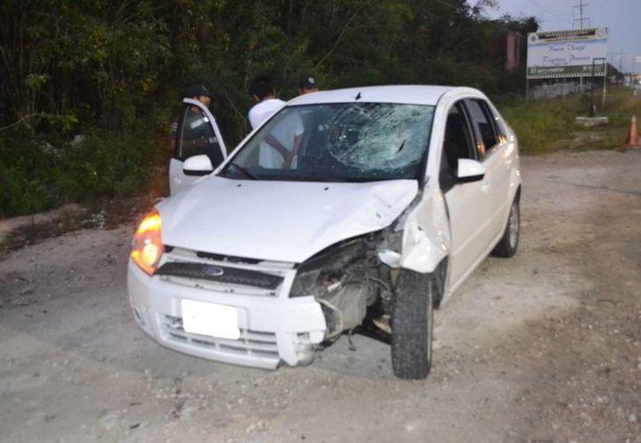 El conductor responsable de la muerte del peatón fue identificado por el automóvil que conducía. (Redacción/SIPSE)