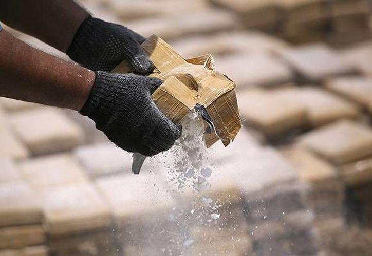 La dependencia recordó que en la última semana han sido incautados mil 72 kilogramos del alcaloide. (Archivo/Reuters)
