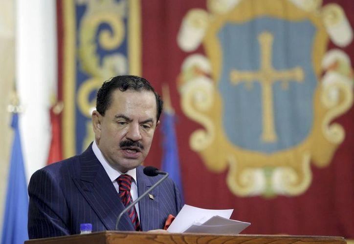 El presidente de la Comisión Contra la Impunidad de la SIP, Juan Francisco Ealy Ortiz. (EFE/Archivo)