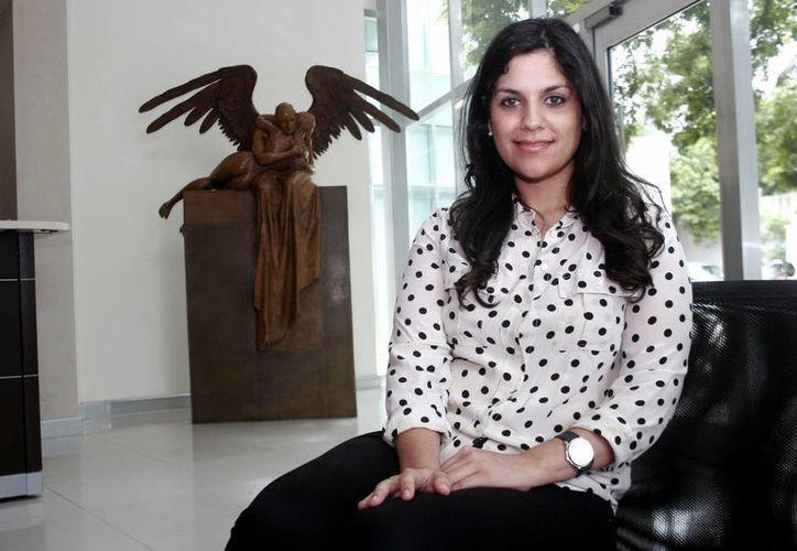 La creadora de Universidad Nicxa, Nicole Xacur Cejudo. (Milenio Novedades)