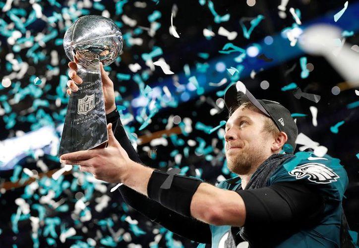 El Súper Tazón 2018 fue la primera victoria de las Aguilas por 41-33, en el juego de campeonato de la NFL desde 1960. (Contexto/ Internet)