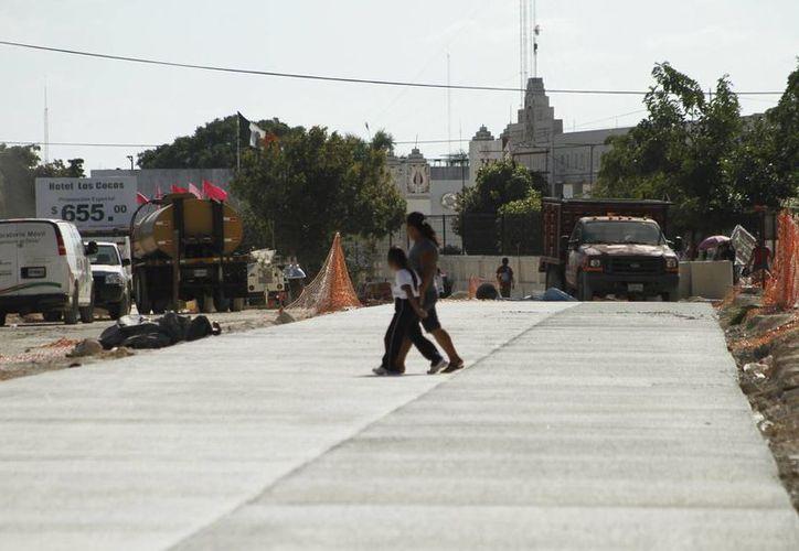 Unas 18 empresas han presentado los proyectos de apertura de avenida De los Héroes. (Harold Alcocer)/SIPSE)