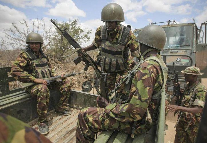 Imagen de archivo de unos soldados en Somalia. (EFE/Archivo)