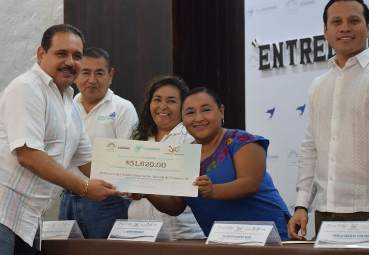 Mediante una convocatoria participaron 20 proyectos de los cuales 13 se utilizarán en favor de la población. (Foto: Gustavo Villegas/SIPSE).