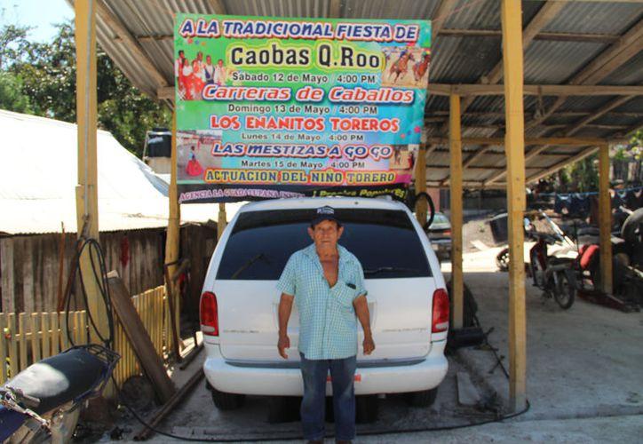 De acuerdo con la información de Justino Uc Huchuch, organizador, los festejos se originaron hace 40 años; se suspendieron por diversas riñas. (Carlos Castillo/SIPSE)