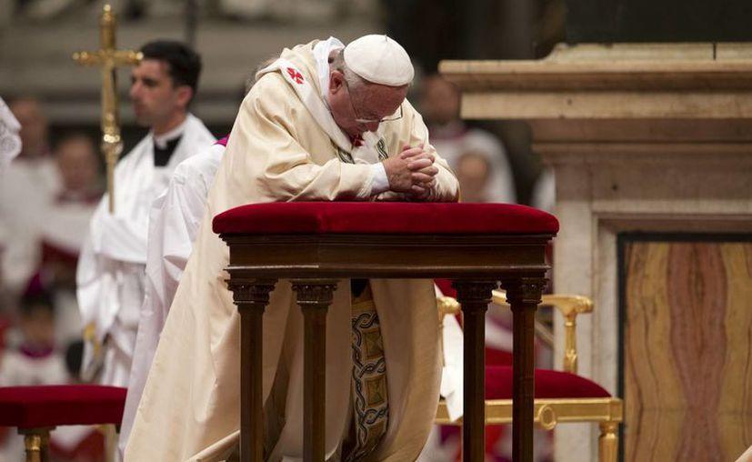 """Francisco ha dicho que desea una """"Iglesia pobre para los pobres"""". (Agencias)"""