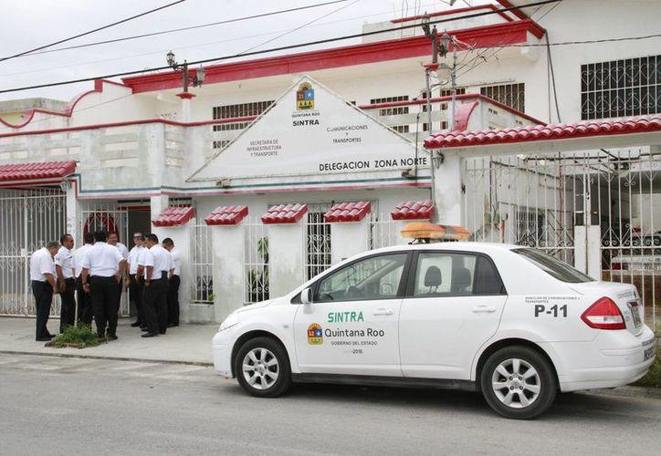 Los inspectores de Sintra realizan su trabajo conforme a la ley. (Tomás Álvarez/SIPSE)
