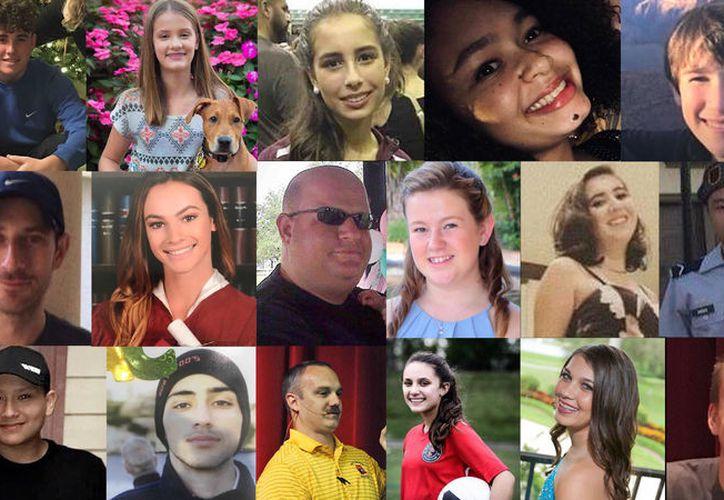Diecisiete personas murieron a manos de Nikolas Cruz el pasado 14 de febrero. (Sun Sentinel)