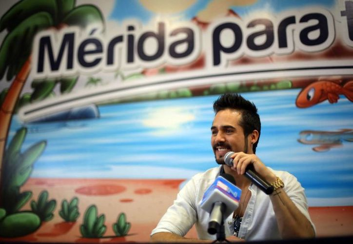 José Ron ofreció una rueda de prensa donde habló de sus próximos proyectos. (Milenio Novedades)