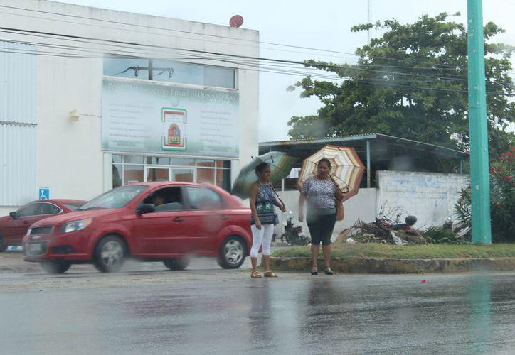 Auguran posibilidad de lluvias con chubascos y actividad eléctrica. (Daniel Tejada/SIPSE)