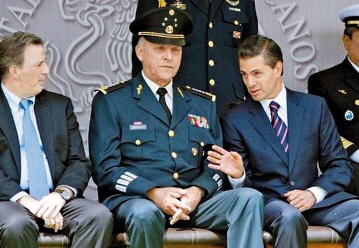 La ceremonia de premiación se efectuó en el Campo Militar número uno. (Daniel Cruz/Milenio)