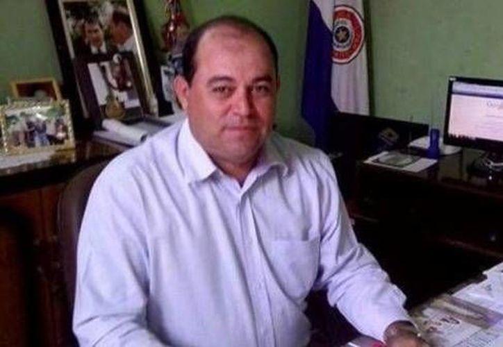 Imagen de archivo de Miguel Louteria Echeverria, alcalde de Bella Vista Norte, Paraguay, asesinado el viernes 5 de agosto de 2016. (Foto: capitanbadonews.com, tomada de www.paraguay.com)