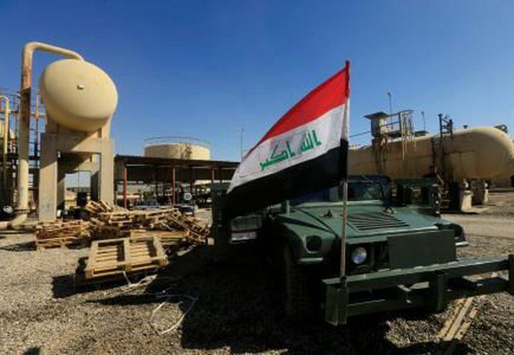 El ejército iraquí ha izado ya la bandera nacional sobre sus edificios. (Foto: El Financiero)