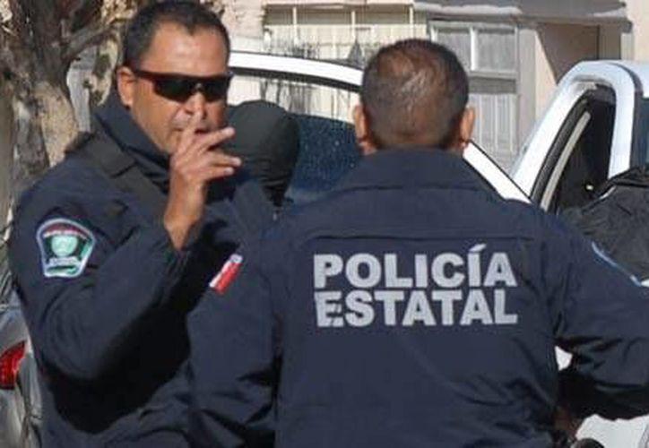 Agentes de la policía fueron enviados al municipio para mantener la seguridad de la población. (Foto de contexto/chihuahuanoticias.com)