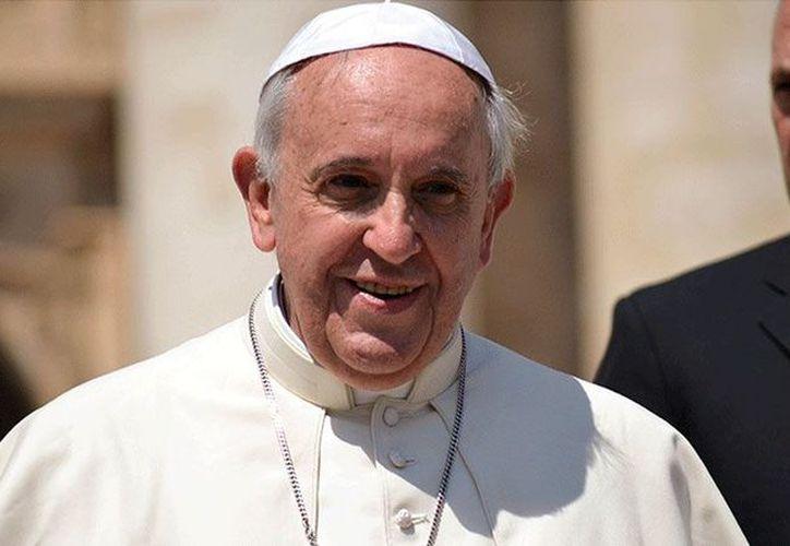 Francisco habló ante un grupo de jóvenes católicos de la diócesis de Grenoble, en Francia. (Aciprensa)