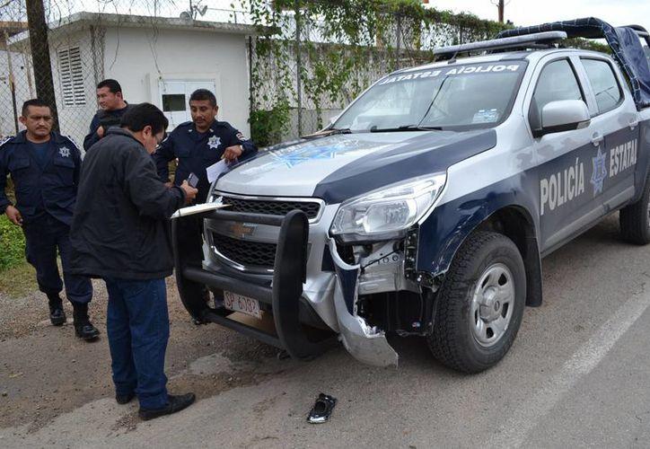 Los daños fueron valuados en aproximadamente 10 mil pesos. (Redacción/SIPSE)