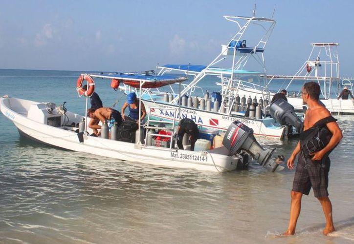 'Healthy Reefs for Healthy People', inició los primeros trabajos de investigación submarina (Daniel Pacheco/ SIPSE)