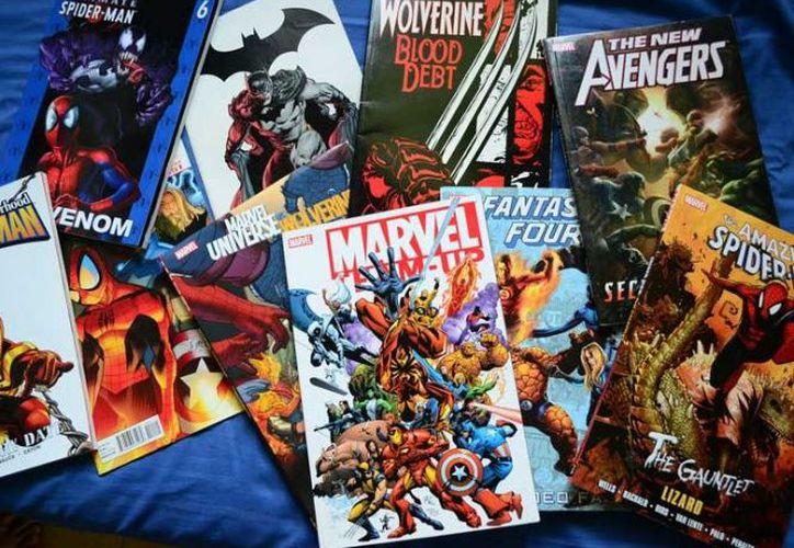 El dueño de la casa denunció el robo después que un amigo le avisó que sus revistas estaban a la venta. (Excelsior)