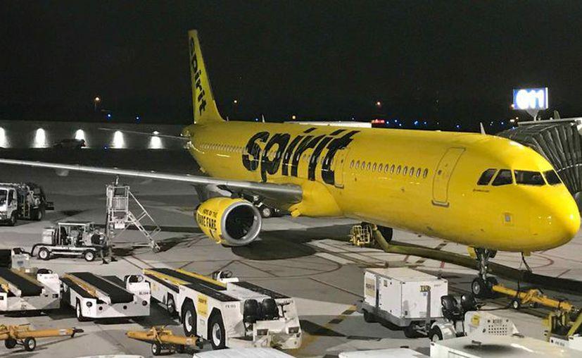 La aeronave debió hacer una parada imprevista a mitad de camino en la ciudad de Myrtle Beach. (Internet)