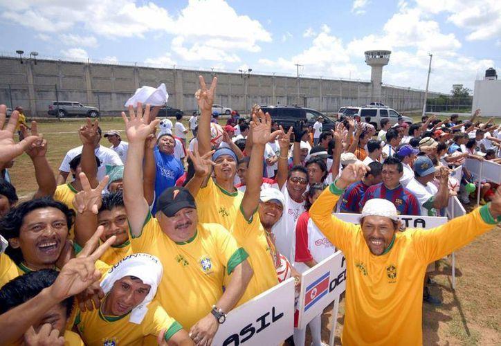 El primer 'Mundialito' en el penal meridano se realizó en el 2006 durante la Copa de Mundo en Alemania, luego en el 2010 cuando se realizó en Sudáfrica y ahora con Brasil 2014. (Archivo/SIPSE)