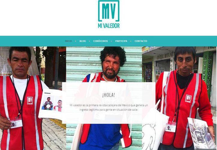 Puedes saber más sobre el proyecto en el sitio web de 'Mi Valedor'. (mivaledor.com)