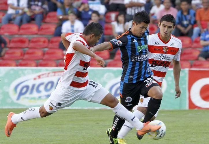 Muy mal le fue a Chiapas en su encuentro contra Querétaro. (Notimex)