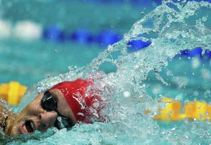 Lovtsova quien participó en Londres 2012, volverá a las albercas hasta el 2015. (Foto: Agencias)