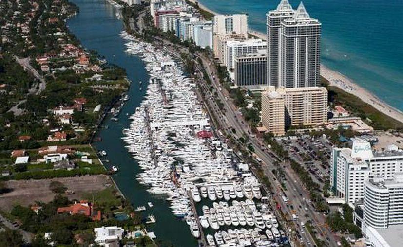 Se contó con un stand dentro del International Miami Boat Show 2016. (Contexto/Internet)