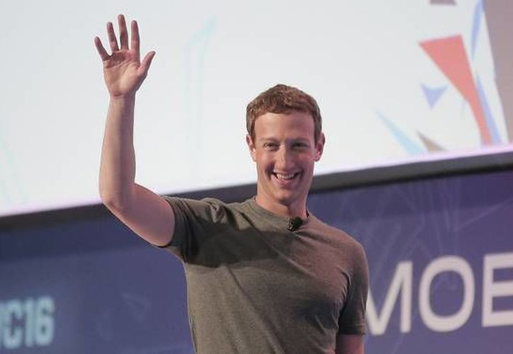 Los Hackers dieron a conocer que la contraseña que usaba Mark, se trataba de la palabra 'dadada', la cual usa en la mayoría de sus redes sociales.(AP)
