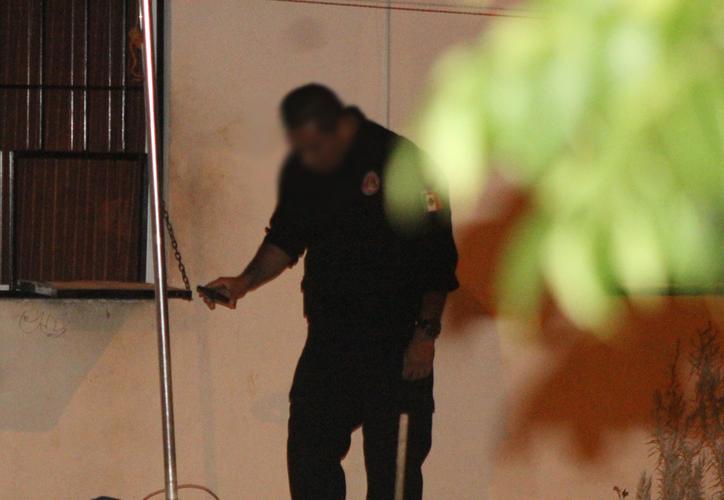 La policía determinó no llamar a los paramédicos, pues el sujeto ya estaba muerto. (Redacción/SIPSE)