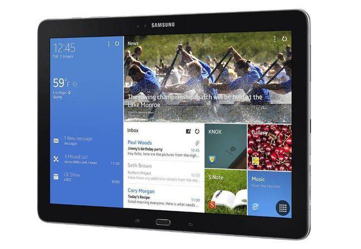 Las tabletas fueron concebidas para el entretenimiento, pero su uso ya se enfoca hacia la productividad. En la imagen, el Galaxy Tab Pro 1 de Samsung. (Archivo/SIPSE)