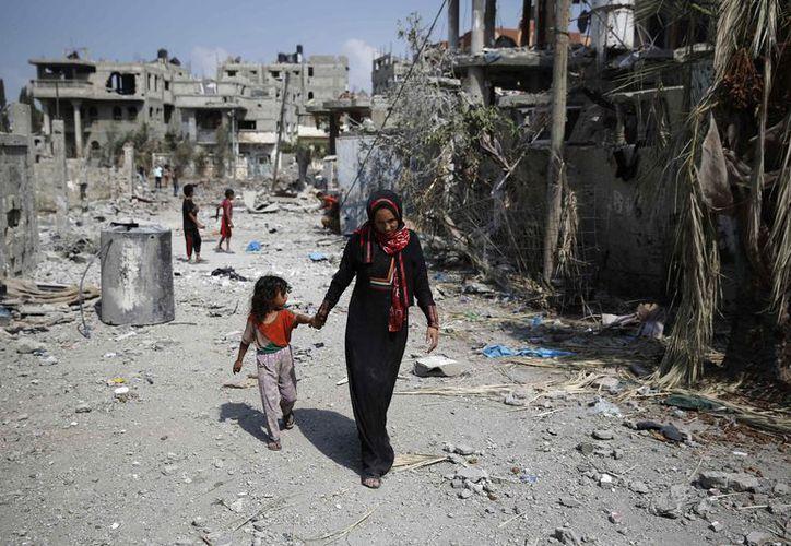 Dos millones de palestinos luchan cada día con una infraestructura en ruinas, en medio de un desastre ambiental en crecimiento. (Foto: La Nueva)