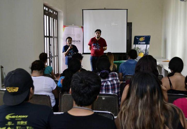 La apertura del VII Coloquio del Cómic apertura se llevó a cabo en la Biblioteca Yucatanense. (Milenio Novedades)