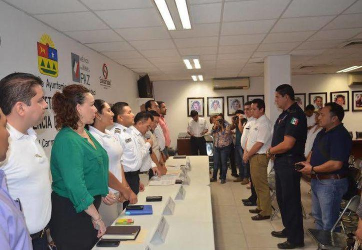 Ayer se instaló el gabinete de prevención social de la violencia y la delincuencia de Solidaridad. (Redacción/SIPSE)