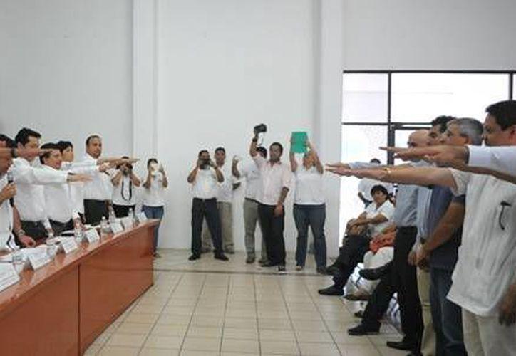 Ayer rindió protesta el Consejo Consultivo de Mejora Regulatoria del municipio de Solidaridad.  (Redacción/SIPSE)
