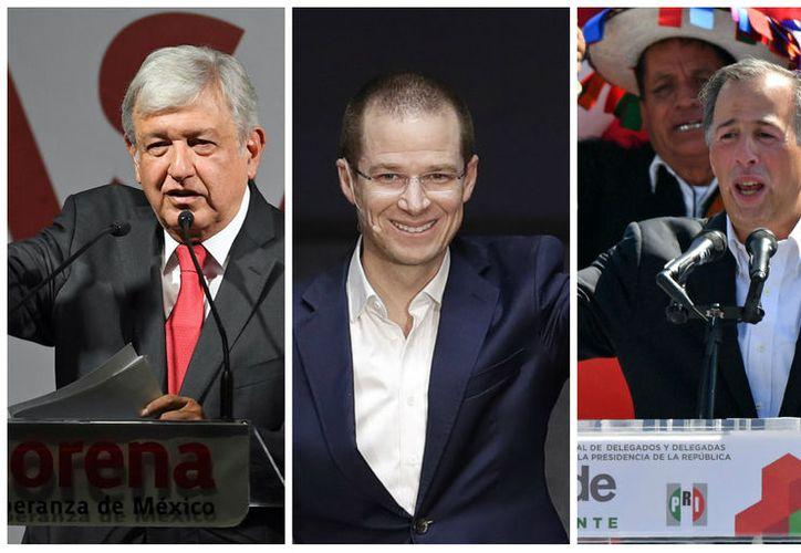 los aspirantes a la Presidencia tienen listos sus primeros spots y los detalles para el evento inaugural de su campaña electoral. (Foto: El Universo)