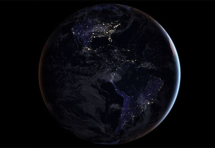 Así se ve la Tierra desde Saturno