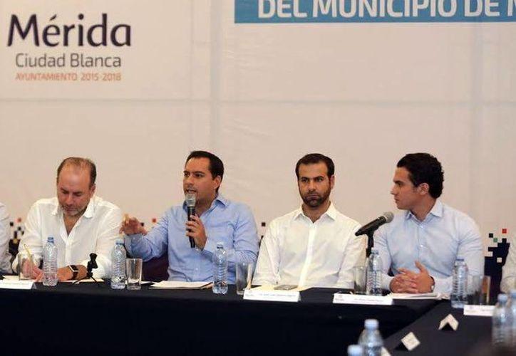 El Alcalde de Mérida encabezó en días pasados la firma de un convenio con la Organización para la Cooperación y el Desarrollo Económico. (Milenio Novedades)