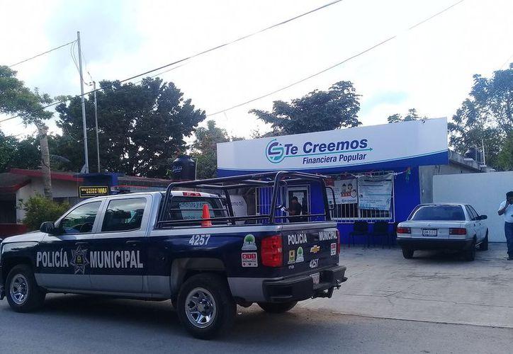 El asalto a la empresa se registró alrededor de las 15 horas. (Raúl Balam/SIPSE)