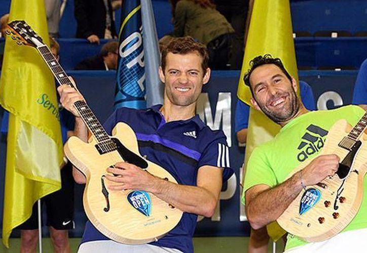 Santiago González logró su décimo campeonato en la categoría de dobles. (Foto: Oficial)