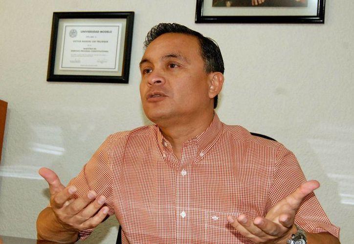 Víctor Chi Trujeque dijo que se notificó a Valladolid sobre el proyecto del Banco Mundial con el Gobierno Federal. (Milenio Novedades)