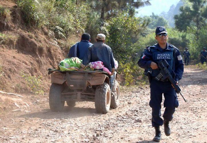 La sierra del municipio de Concordia, Sinaloa, ha sido asolada por la violencia del crimen organizado. (Archivo Notimex)
