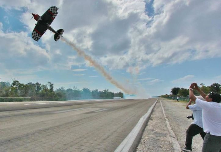 Este es el segundo accidente trágico registrado en el aeroshow. (Redacción/SIPSE)