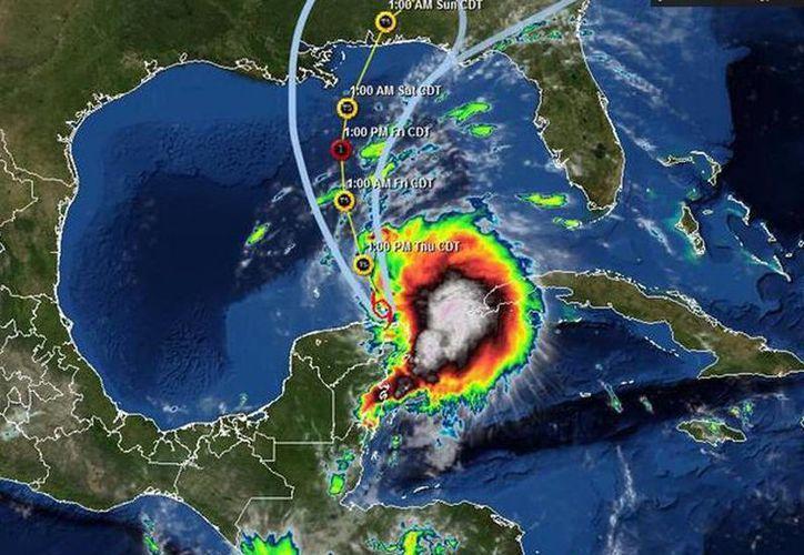 Una de las tormentas que se formaron en esta temporada fue 'Karen', que afectó con lluvias, y un susto más que nada, la Península de Yucatán, a principios de octubre. (SIPSE)
