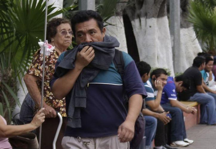 El fresco se mantendrá unos días más en Yucatán. (Theani Ruz/SIPSE)