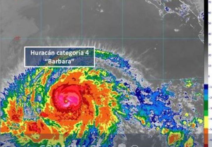 La temporada de ciclones tropicales comenzó el 15 de mayo en el Pacífico y en el Atlántico el 1 de junio. (SMN)