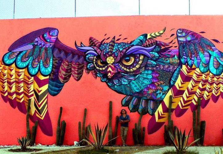 Los artistas trabajarán en nueve lugares de Cancún. (Contexto/Internet)