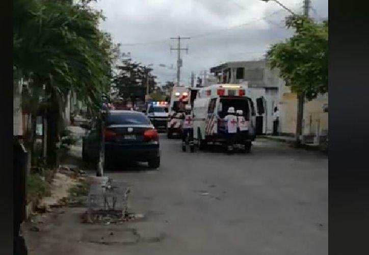 Los hombres fueron lesionados cerca de la avenida Talleres. (Foto: Captura)
